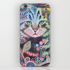 Abstract Cat Art - Penny iPhone & iPod Skin