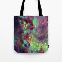 Seahorse Nebula Tote Bag