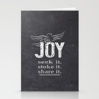 JOY...share It! Stationery Cards