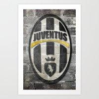 Juventus Art Print