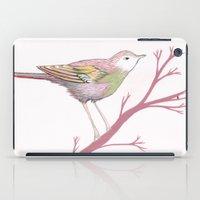 Peach Plum Pear Bird iPad Case