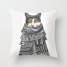 Colder Than I Thought Throw Pillow
