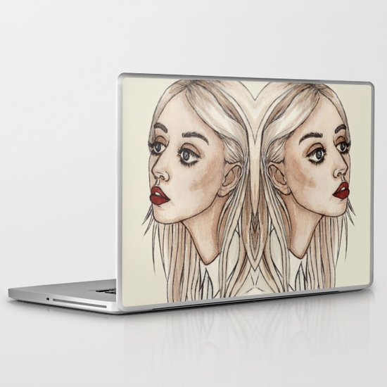Creepy Chan Laptop & iPad Skin
