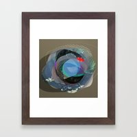 the abstract dream 13 Framed Art Print