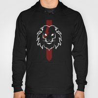 Monarch (White & Red) Hoody