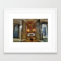 Easter Prayer Framed Art Print