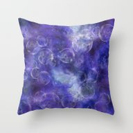 Throw Pillow featuring Space Universe by LebensART