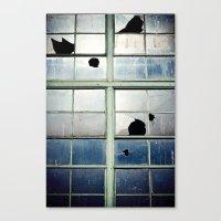 Broken Cross Canvas Print