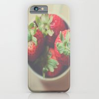 iPhone & iPod Case featuring Berries in a cup by Julia Goss Photography