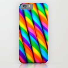 Rainbow Candy : Candy Canes iPhone 6 Slim Case