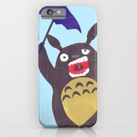 Totoro Is Tired Collage iPhone 6 Slim Case