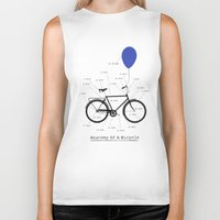 Anatomy Of A Bicycle Biker Tank