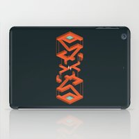 Monument Maze iPad Case