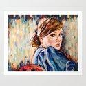 Mistery of Adele Art Print