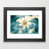 Teal  Framed Art Print