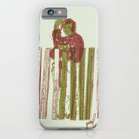 iPhone & iPod Case featuring Billygoat with a blowtorch by YONIL