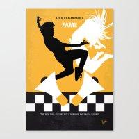 No619 My Fame Minimal Mo… Canvas Print