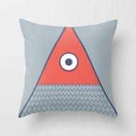 Never Ending Fish 2 Part… Throw Pillow