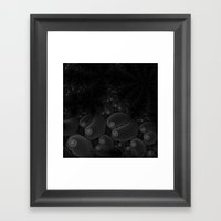 Through Darkness Framed Art Print