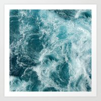 sea Art Prints featuring Sea by studio VII
