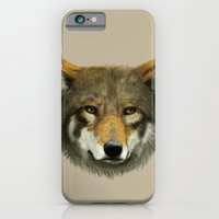 iPhone & iPod Case featuring Wolf face by Laura MSS
