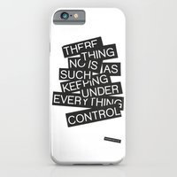 iPhone & iPod Case featuring Under Control by WRDBNR