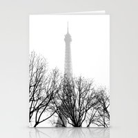 eiffel Stationery Cards featuring eiffel by FERNANDAЯAMOS