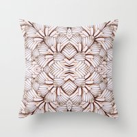 Butterfly Seduction Throw Pillow