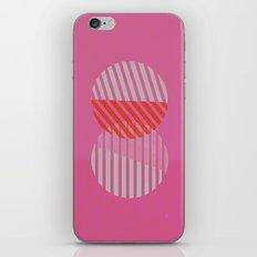Two Circles iPhone & iPod Skin