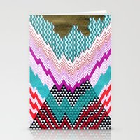 Isometric Harlequin #5 Stationery Cards