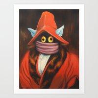 Master Orko Art Print