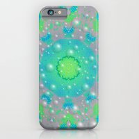 Snow in grandmothers garden iPhone 6 Slim Case