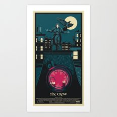 THE CROW (1994) Art Print
