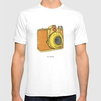 So Analog Mens Fitted Tee White SMALL