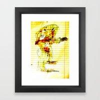 Reach-out Framed Art Print