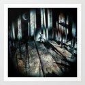 haunted. 9 Art Print