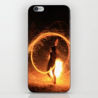 FIRE DANCE iPhone & iPod Skin