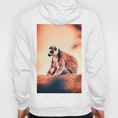 Portrait Of Lemur Hoody