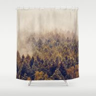 Shower Curtain featuring If You Had Stayed by Tordis Kayma