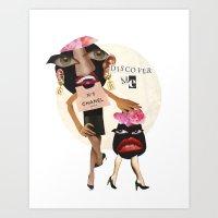 Ms. Rotten Soul  Art Print