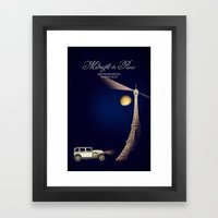 Midnight in Paris Framed Art Print