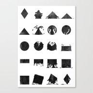 Shapeshift Canvas Print