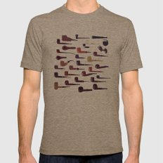 A pipe for every man Mens Fitted Tee Tri-Coffee SMALL