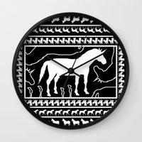 Unicorns N10 Wall Clock