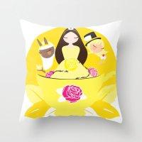 Worldwide Endometriosis … Throw Pillow