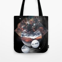 Crystal Nebula Tote Bag