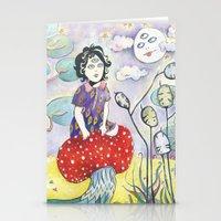 Enid On Acid Stationery Cards
