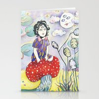 Enid On Acid Stationery Cards