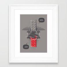 Alter LEGO Framed Art Print