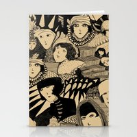Tribute to Madge Gill - Outsider Artists Stationery Cards